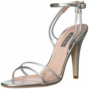 SJP by Sarah Jessica Parker Queen Silver Heels